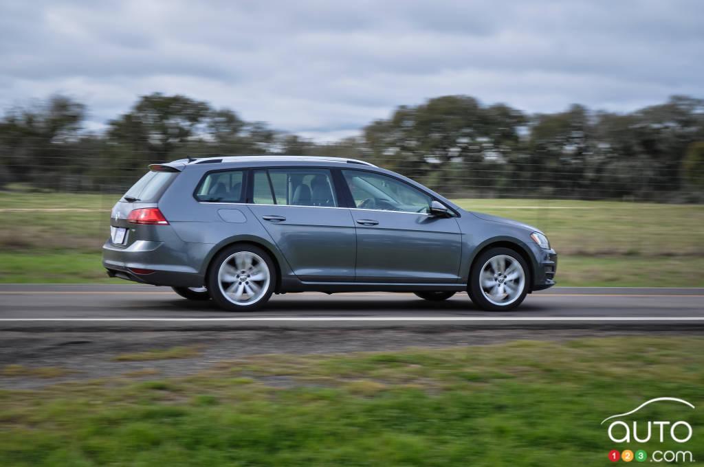 Volkswagen Golf Sportwagon 2015: premières impressions