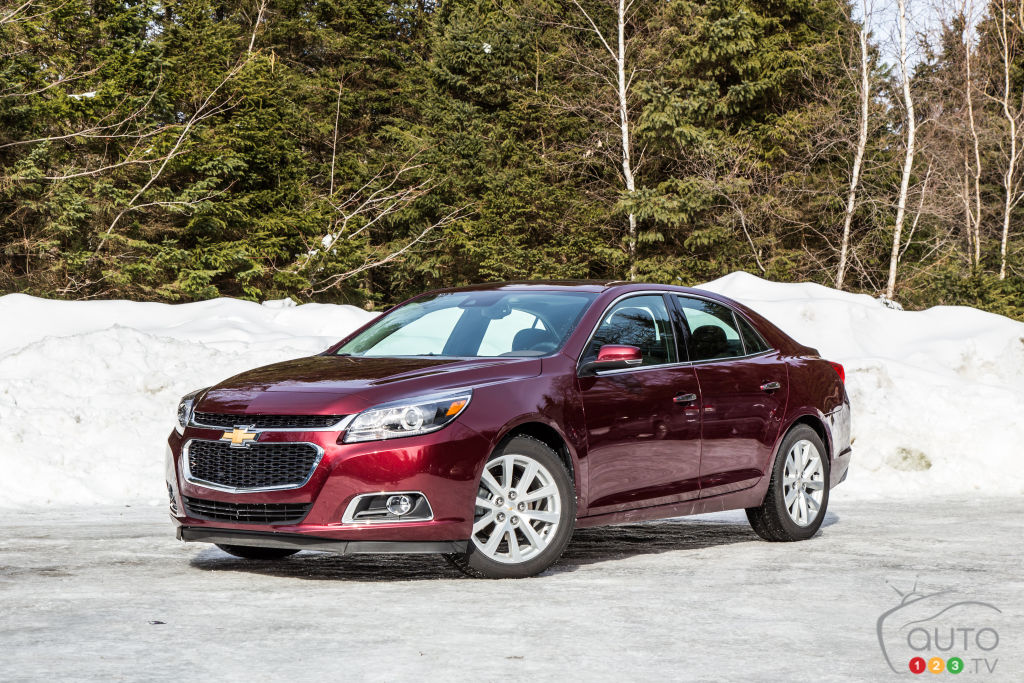 2015 chevrolet malibu ltz review le relais chevrolet. Black Bedroom Furniture Sets. Home Design Ideas