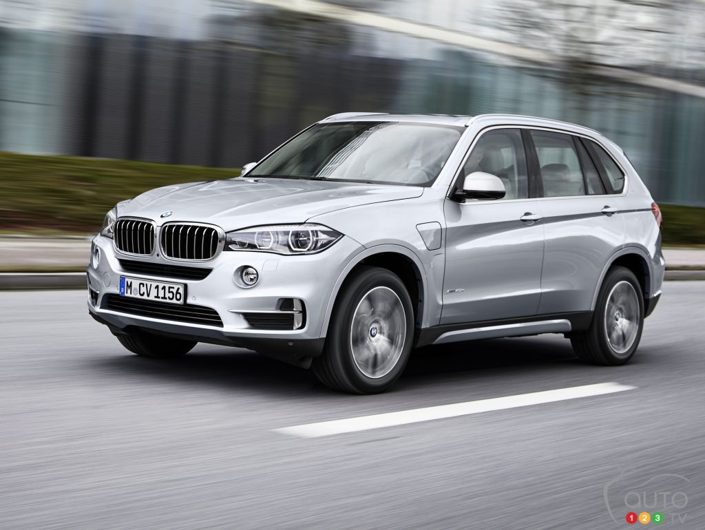 bmw introduces x5 xdrive40e plug in hybrid suv car news auto123. Black Bedroom Furniture Sets. Home Design Ideas