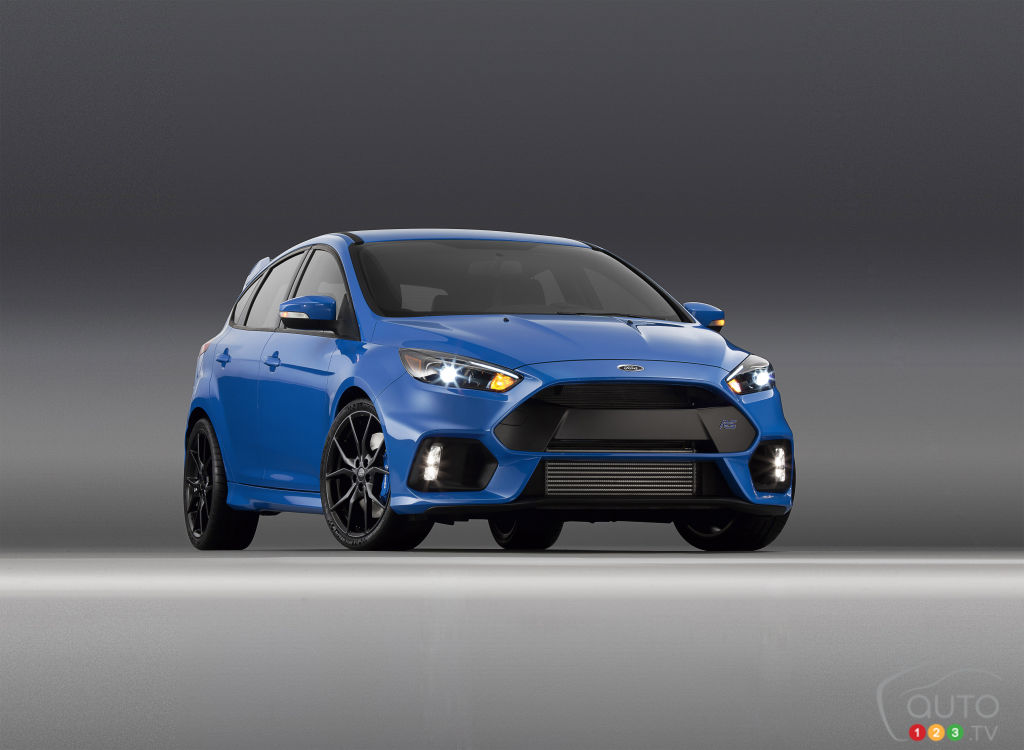 2015 New York Auto Show: Ford Focus RS to make North American debut