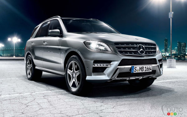 2015 Mercedes-Benz Classe M Preview