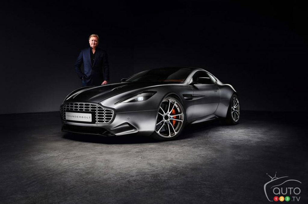 Henrik Fisker sued by Aston Martin for his Thunderbolt concept