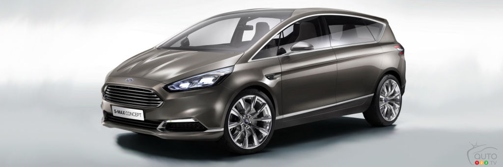 No more speeding tickets with Ford's new S-MAX?