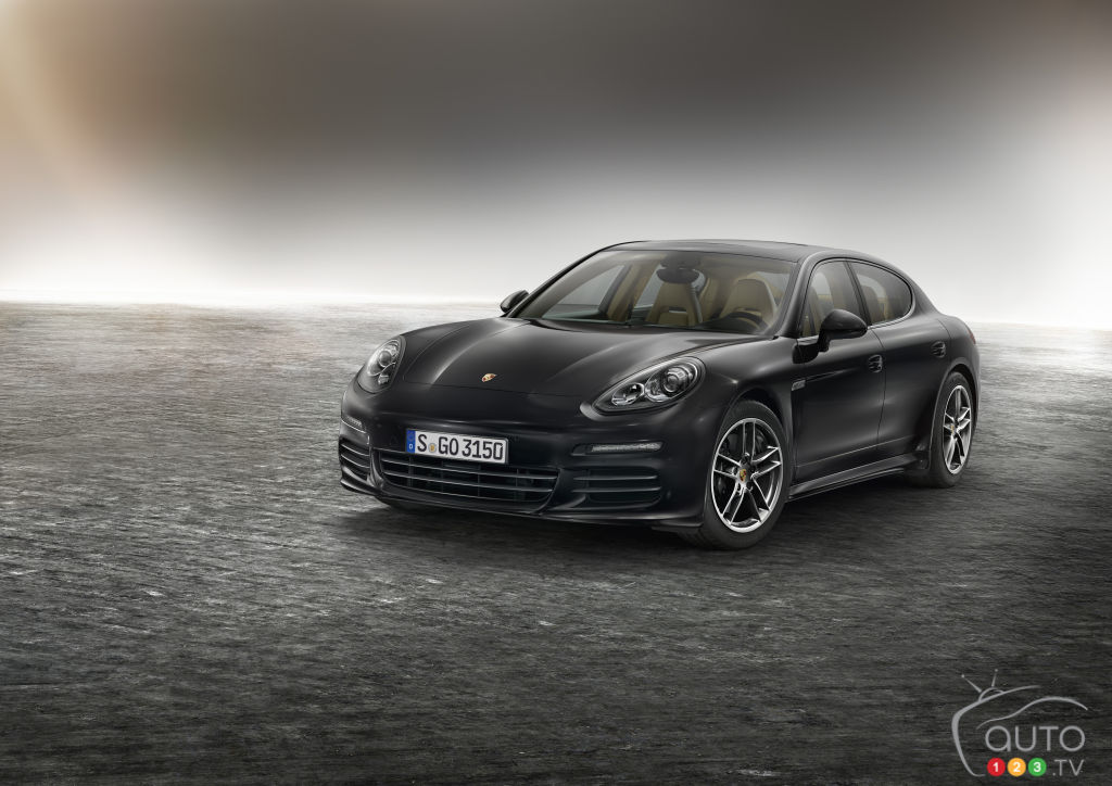 Porsche announces new Panamera Edition