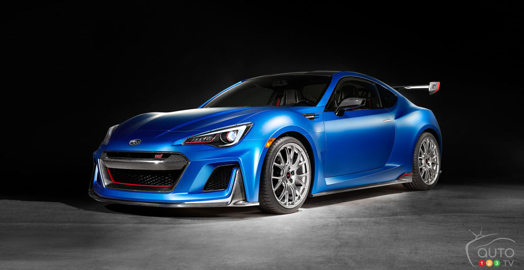 2015 New York Auto Show: Subaru unveils STI Performance concept
