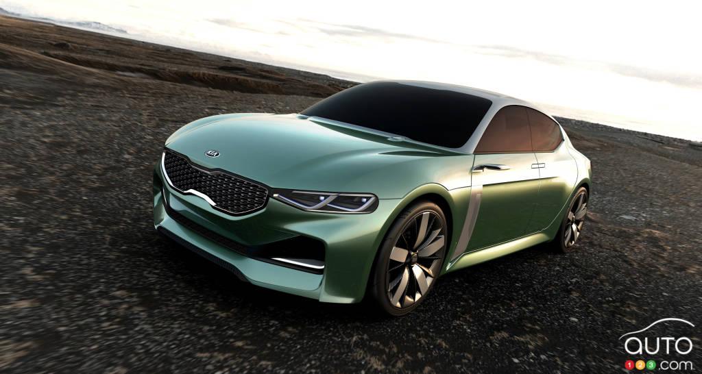 2015 Seoul Motor Show: Kia premieres Novo Fastback concept