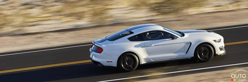 La Ford Mustang GT350 aura plus de 520 chevaux sous le capot