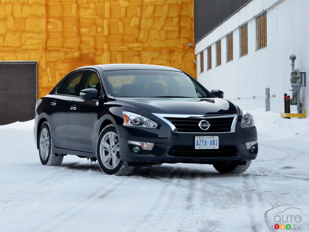 2015 nissan altima 2 5 sl review editor 39 s review auto123. Black Bedroom Furniture Sets. Home Design Ideas
