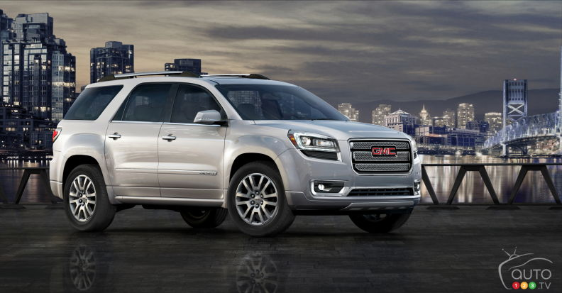 2015 GMC Acadia Denali Review