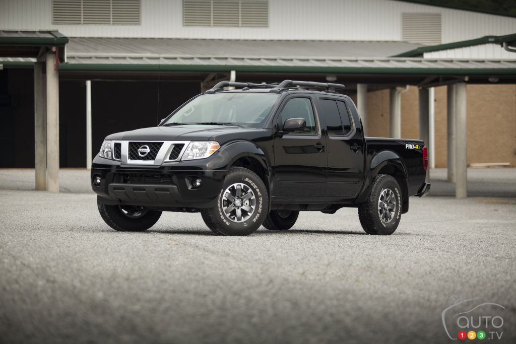 2015 Nissan Frontier Preview