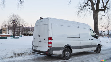 "2015 Mercedes-Benz Sprinter Cargo Van 2500 High Roof 170"" WB Review"