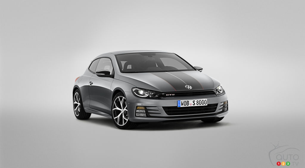 World premiere of Volkswagen Scirocco GTS