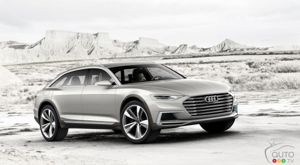 First look at Audi Prologue Allroad