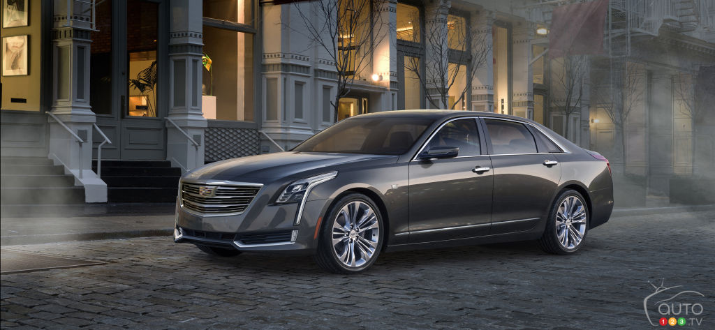 New Cadillac CT6 spawns plug-in hybrid version