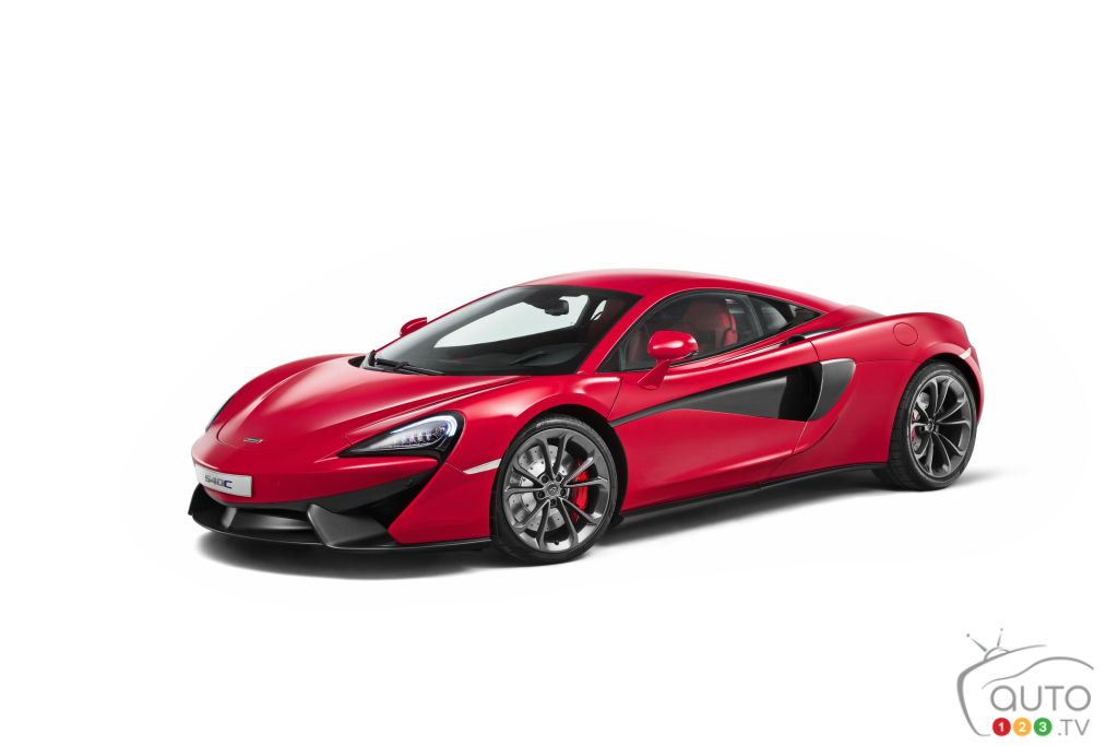 2015 Auto Shanghai: World premiere of McLaren 540C Coupe