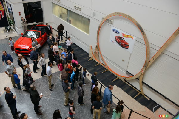 Ford builds world's largest Hot Wheels loop