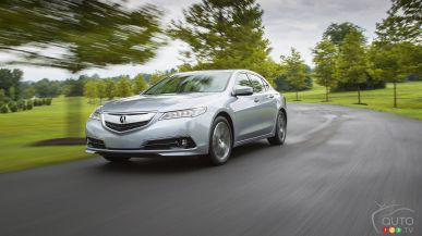 2015 Acura TLX SH-AWD Elite review