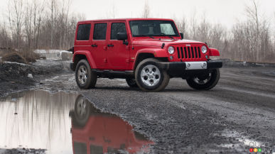 0-100 in 5 Points or Less: 2015 Jeep Wrangler Unlimited Sahara