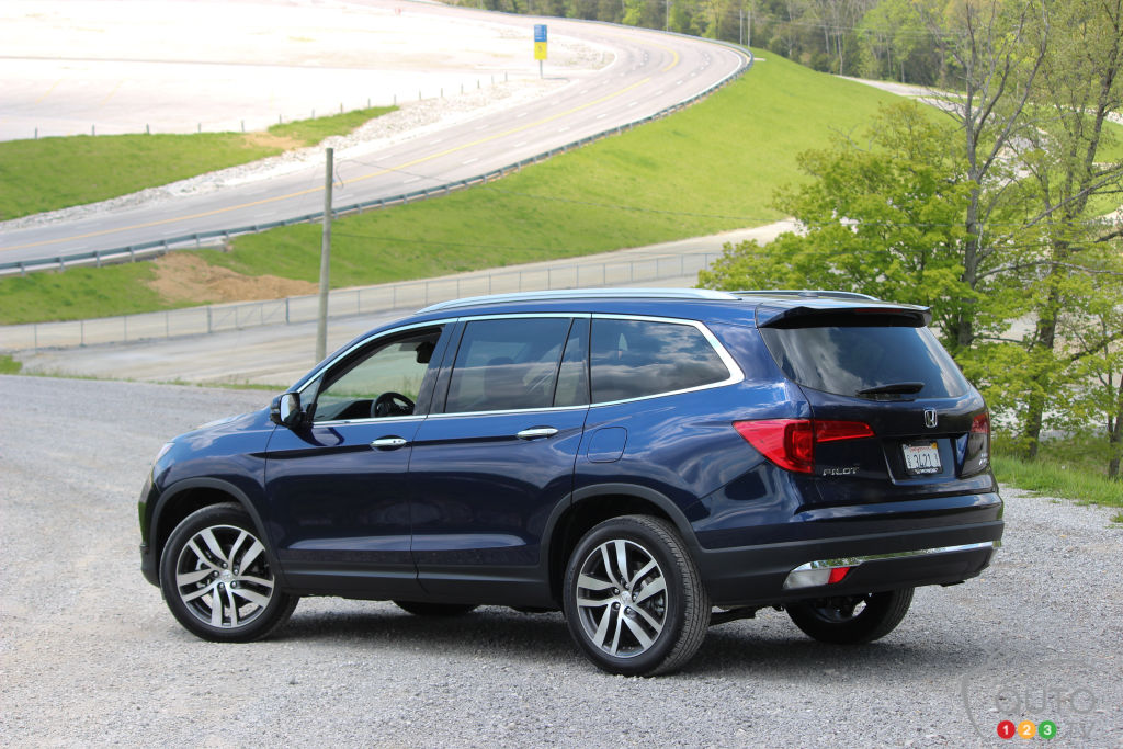 2016 Honda Pilot First Impression
