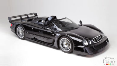 Still-new 1999 Mercedes-Benz CLK GTR to be auctioned