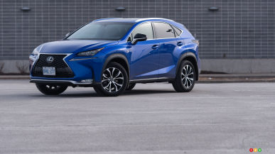 2015 Lexus NX 200t F SPORT Review