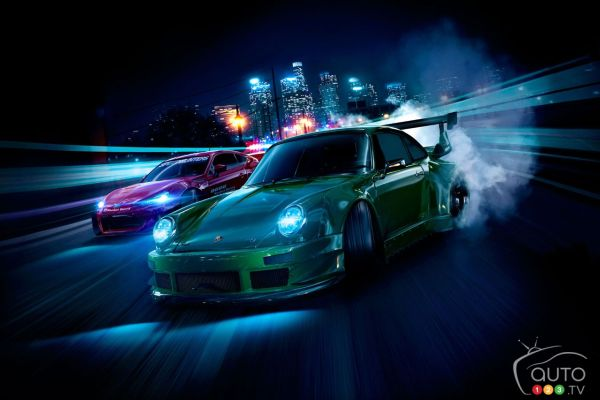 Teaser for upcoming Need for Speed game (video)
