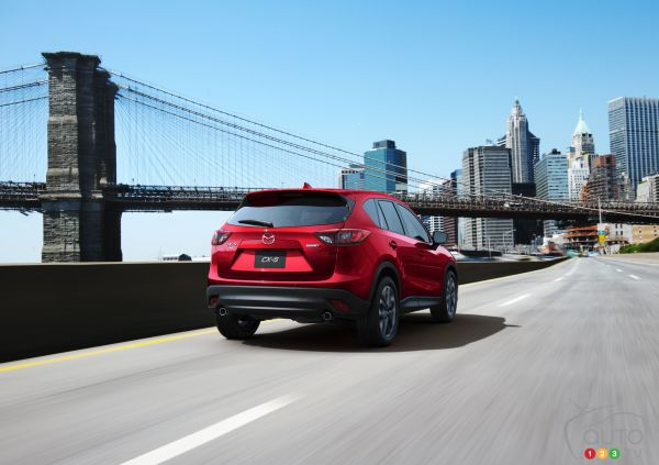 Mazda CX-5 hits one million units produced