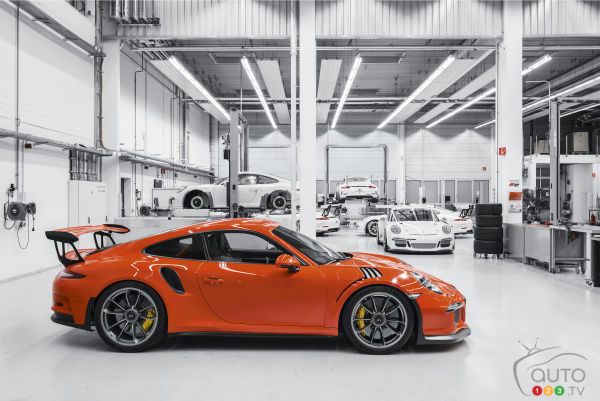 Michelin: Porche GT3 RS new official tire