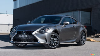 2015 Lexus RC 350 AWD F SPORT Review