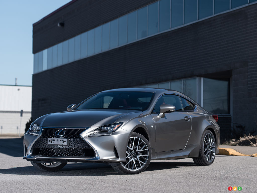 Innovative 2015 Lexus RC 350 AWD F SPORT Review Editor39s Review  Auto123