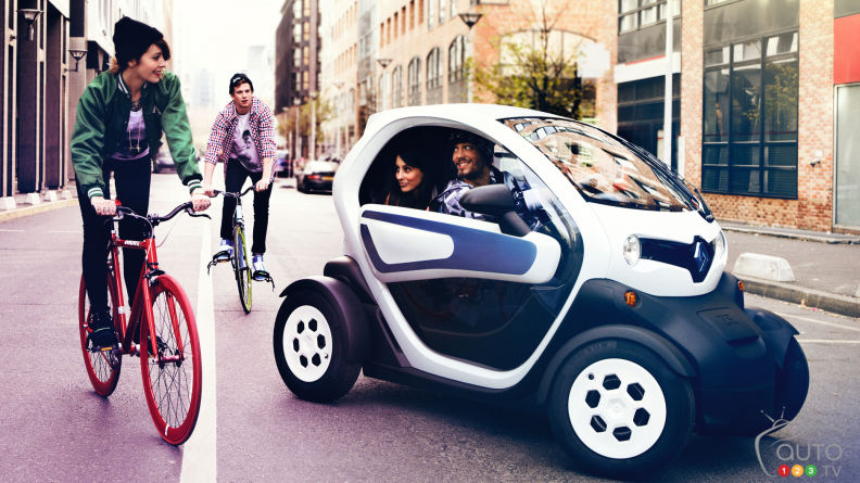 Renault Twizy coming to Canada soon!