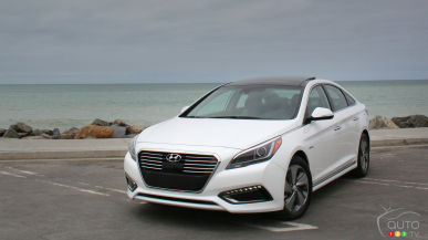 2016 Hyundai Sonata Hybrid & Hybrid Plug-In First Impression