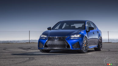 New Lexus GS F to star at Goodwood Festival of Speed