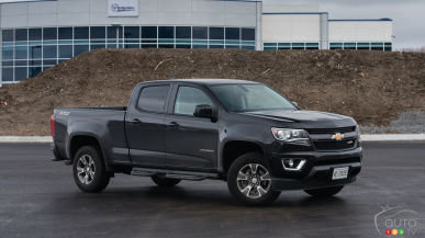 2015 Chevrolet Colorado Z71 Crew Cab 4WD Review