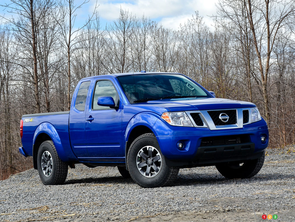 2015 nissan frontier pro 4x car reviews auto123. Black Bedroom Furniture Sets. Home Design Ideas