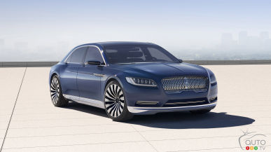 Where will the 2017 Lincoln Continental be built?
