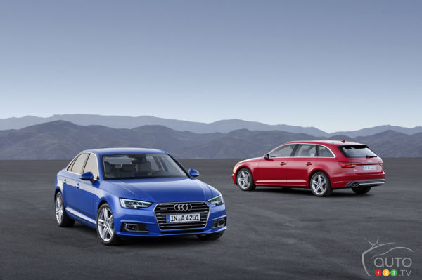 New Audi A4 redesigned with understated elegance