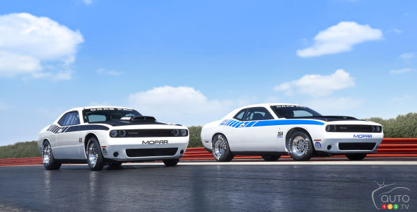 Mopar Dodge Challenger Drag Pak is newest drag star