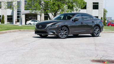 2016 Mazda6 GT Review