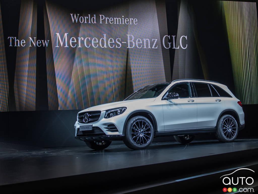 2016 mercedes benz glc class car news auto123. Black Bedroom Furniture Sets. Home Design Ideas