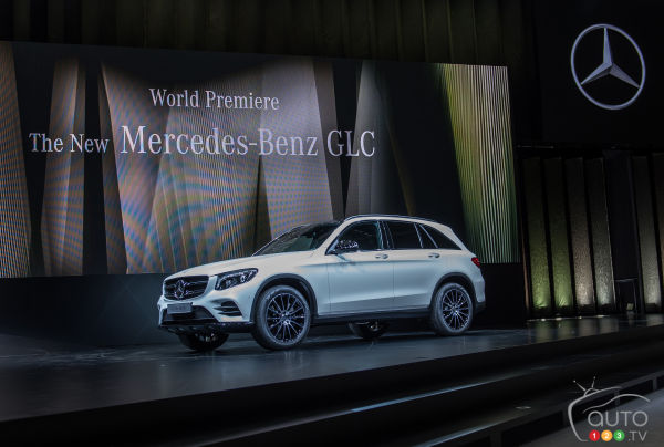 2016 Mercedes-Benz GLC-Class Preview