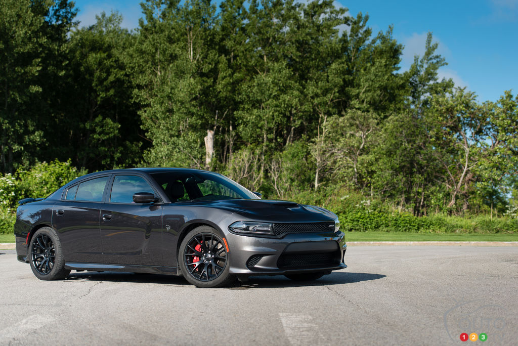 Dodge Charger SRT Hellcat 2015 : essai routier