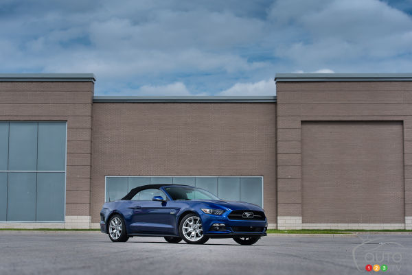 2015 Ford Mustang GT Convertible Review