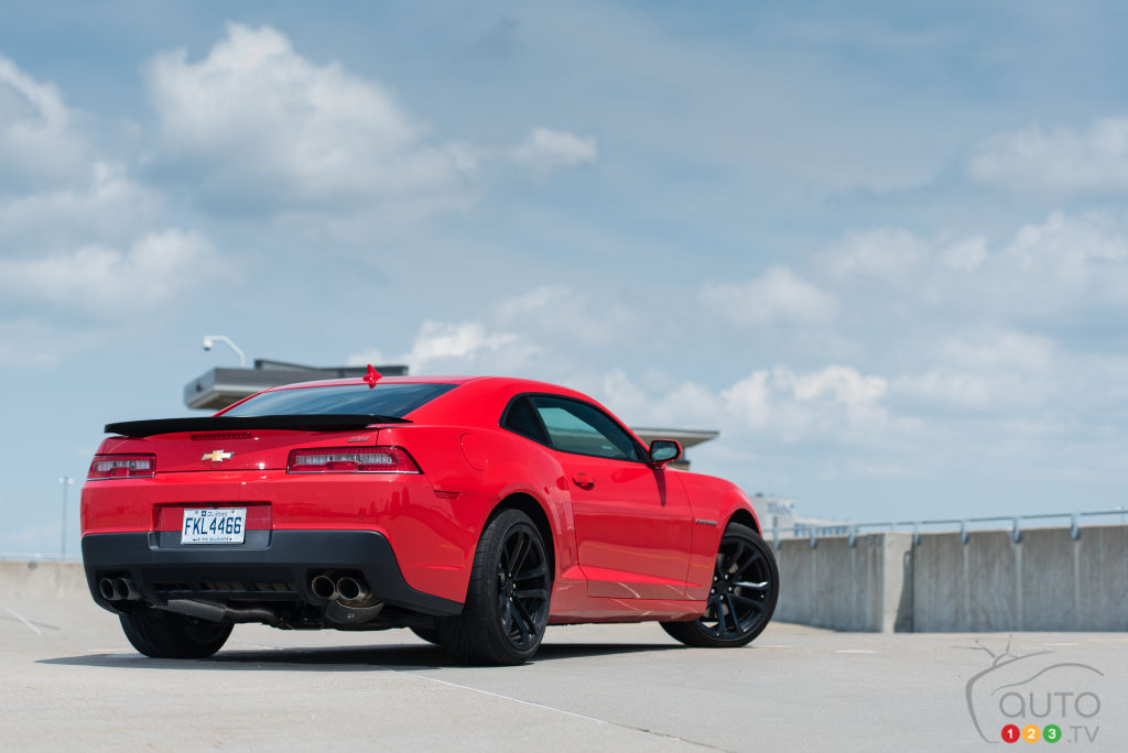 2015 Chevy Camaro Ss Car Reviews Auto123