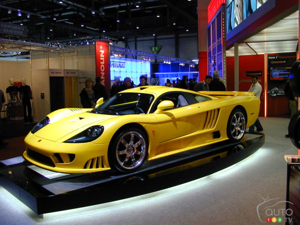 Saleen to sell S7, S7R, and S5S assets and intellectual property