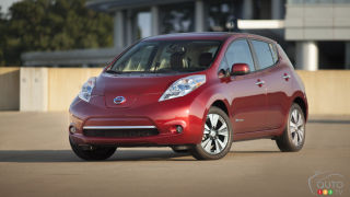 Nissan LEAF may spawn all-electric crossover