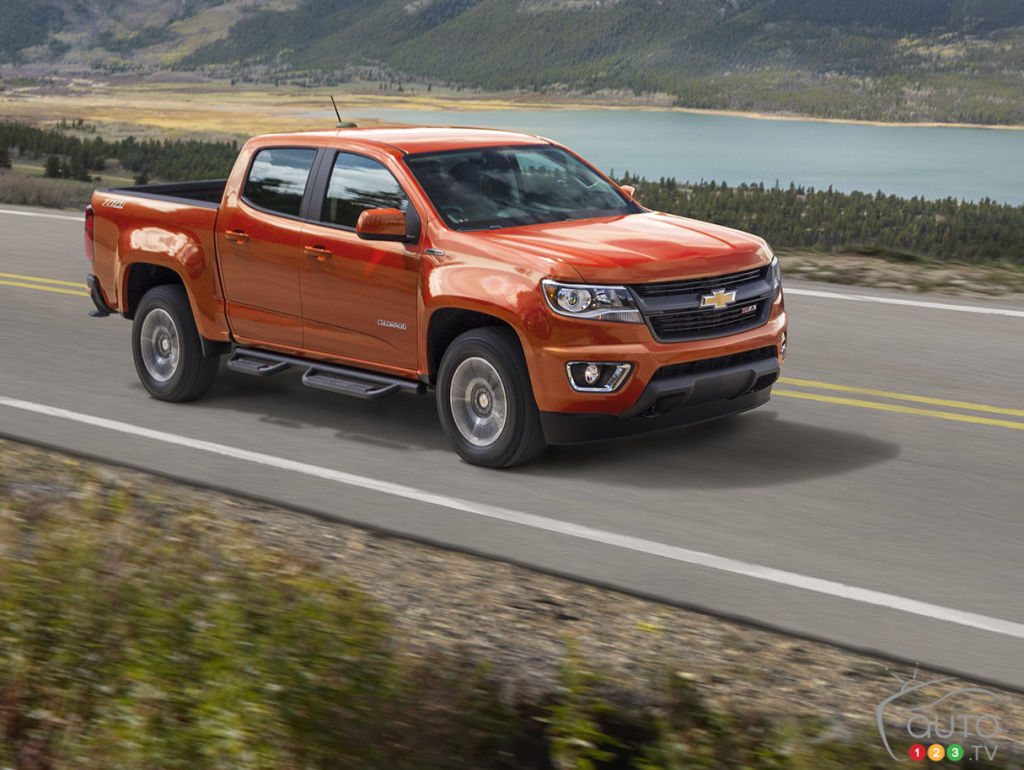 chevrolet announces 2016 colorado duramax diesel car news auto123. Black Bedroom Furniture Sets. Home Design Ideas
