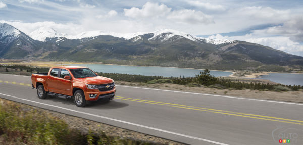 Diesel-powered 2016 Chevy Colorado Duramax arriving this fall