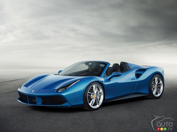 Ferrari set to unleash 661-horsepower 488 Spider in Frankfurt