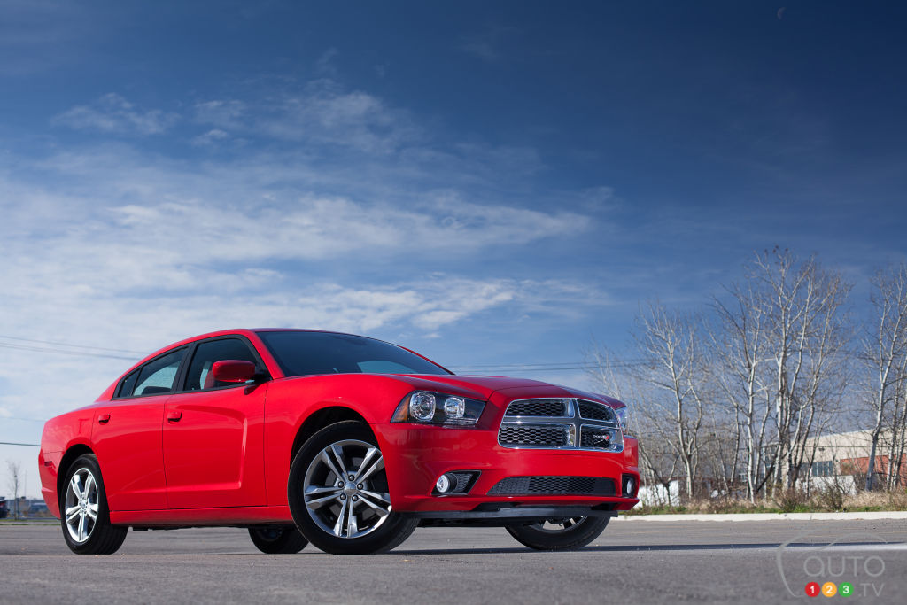 Recall on 322,000 Dodge Charger sedans from 2011-2014
